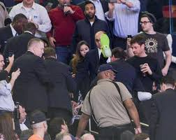 nets fan mr whammy madison square garden security overreacted because knicks are losers