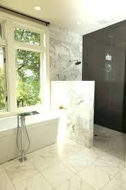 shower glass wall pony wall shower glass half wall shower best half wall shower ideas on