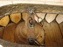 home antique furniture lighting arts crafts slag glass chandelier f7130