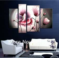flower oil painting contemporary abstract art canvas hand painted modern home office hotel wall decor artwork