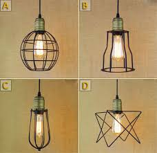 modern retro lighting. aliexpresscom buy loft american vintage pendant lights iron lamp holder e27 110220v antique for home decor restaurant lighting from modern retro k