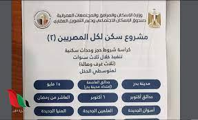 كراسة شروط مبادرة التمويل العقاري 2021 بمصر - غزة تايم - Gaza Time