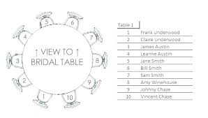 Blank Table Chart Template Wedding Seating Chart Template Excel Inspirational Ms Table
