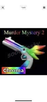 You can always come back for mm2 radio code because we update all the latest. Roblox Murder Mystery 2 Mm2 Chroma Lightbringer Godly Gun Pic And Code Cheap Ebay