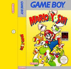 Cover For Mario Yoshi For The Nintendo Game Boy Remade