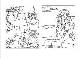49 Jesus Heals A Blind Man Coloring Page Jesus Heals The Blind Man