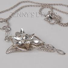 details about lord of the rings jewelry 925 sterling silver arwen evenstar pendant necklace
