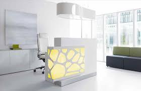 counter in beech ft home design white landscape contractors home half round reception desk design white