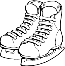 Small Picture Shoes Ice Skating Coloring Page Ice Skating Pinterest Stamps