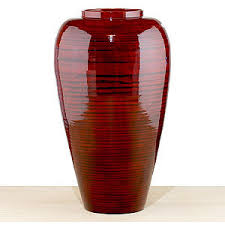 Small Picture red lacquer bamboo narrow vase decorative accessories home decor