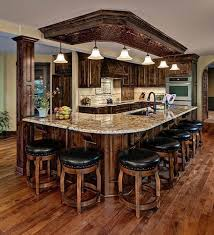 add a warm touch and coziness by having a rustic kitchen design the kitchen is