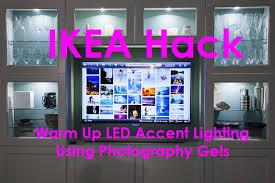 ikea hack besta tv wall unit undercabinet accent lighting warm led 2 cabinet lighting diy