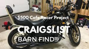 500 craigslist cafe racer build teardown youtube