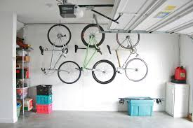 first rate hang bikes in the garage check dream green diy bike hooks for ceiling