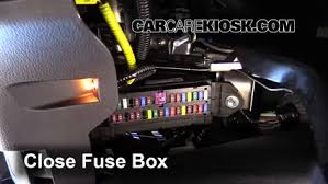 interior fuse box location toyota tundra toyota interior fuse box location 2014 2016 toyota tundra 2015 toyota tundra platinum 5 7l v8
