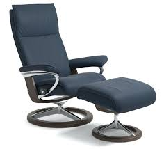 leather stressless chair aura signature recliner chair oxford blue leather stressless leather chair cleaner