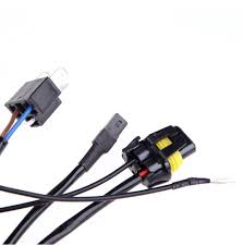 car telescopic wiring wire harness h4 3 xenon hid kit bi xenon see larger image