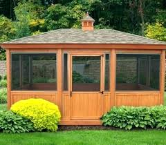 screen house with floor for camping screened gazebo ideas patio plans outdoor kits build your own