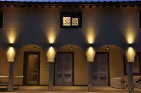 contemporary wall light outdoor aluminum brass up down 65 puraluce