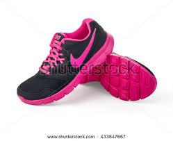 nike shoes logo pictures. chisinau, moldova- may 27, 2015: nike lady\u0027s - women\u0027s running shoes logo pictures