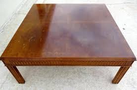henredon coffee table vintage laurel home heritage oval