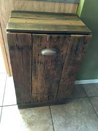 double wooden trash bin wood trash can bin best wooden trash can holder ideas on wood