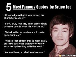 40 Most Famous Quotes By Bruce Lee QuotePix Quotes Fascinating Most Famous Sayings