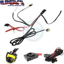 880 h8 h11 relay wiring harness kit for fog light, hid conversion Through Fog Light Relay Wiring image is loading 880 h8 h11 relay wiring harness kit for fog light relay wiring