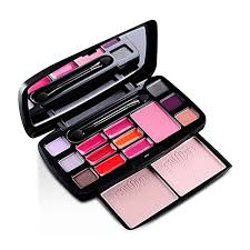 makeup palette professional 15 color travel set includes eye shadow blush lip