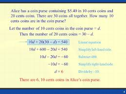 problem solving linear equation in two variables ppt presentation