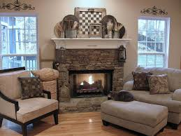 full size of fireplace rustic mantel decor style with stone surround and classic hanging lantern