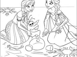 Small Picture Coloring Pages For Kids Frozen Best Coloring Coloring Pages For