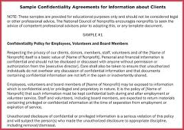 Generic Confidentiality Agreement - 6+ Professional Samples & Formats
