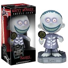 Nightmare Before Christmas Barrel Bobble Head - Funko - Nightmare ...