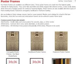 standard size posters standard photo sizes sizing your photo frames and art