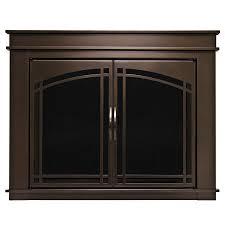 Pleasant Hearth Fenwick Oil-Rubbed Bronze Small Cabinet-Style ...