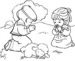 Small Picture Little Boy And Girl Coloring Pages Coloring Home