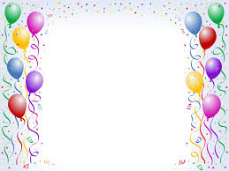 birthday balloons border clip art. Simple Birthday Border And Frame PPT Backgrounds Templates  Download Free With Birthday Balloons Clip Art I