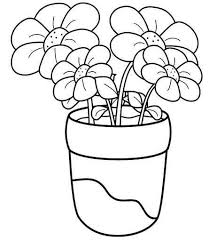 Flower Coloring Pages Crafts And Worksheets For Preschooltoddler