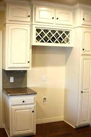 over refrigerator storage wine rack above fridge wine rack above refrigerator over the refrigerator storage wine