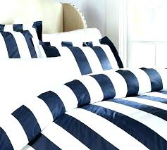 black and white striped quilt black and white striped bedding navy classic stripe thread count duvet