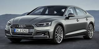 uautoknow.net: Audi brings the 2018 A5 and S5 Sportback models to ...