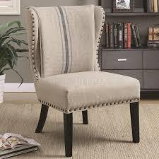 modern set of 2 accent chairs minimalist