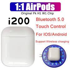 I100 Pop-Up <b>i100 TWS</b> Earphone Bluetooth <b>Wireless Charging</b> ...