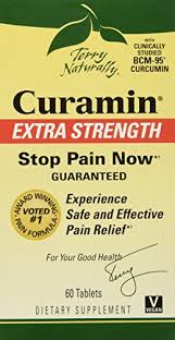 Terry Naturally <b>Curamin Extra Strength</b>, 60 Tablets (FFP) - Buy ...