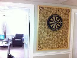 Dart Board Cabinet With Chalkboard Wine Cork Dartboard Backboard I Want Something Like This