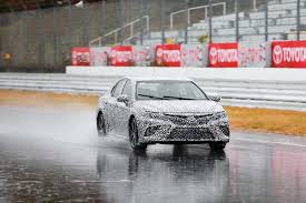 2018 toyota japan. simple toyota 2018 toyota camry prototype front end in motion intended toyota japan