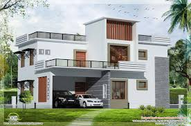 roof idea concrete flat roof house plans plan small with modern bungalow contemporary single story dog