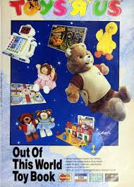out of this world toy book toys r us catalog from 1986