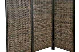 wicker screen outdoor folding screen tall outdoor wicker folding privacy screen partition modern pertaining to 3
